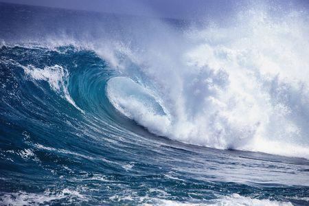wzburzone morze: Fal oceanu