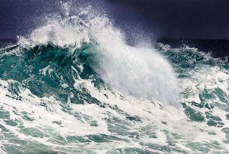 mare agitato: Oceano onda