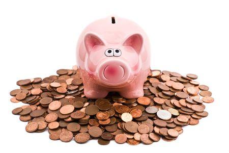 bank deposit: Piggy bank Stock Photo
