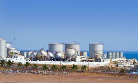 Desalination Plant Stockfoto