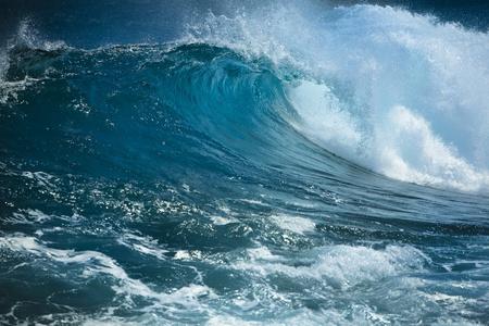 rough sea: Ocean wave