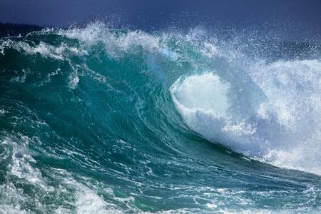 mare agitato: Onde dell'oceano Archivio Fotografico