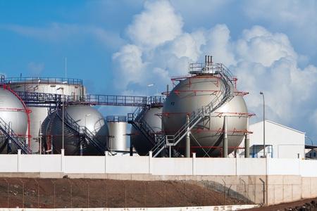 Part of Desalination Plant in Lanzarote