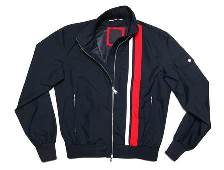 jacket isolated on white background photo