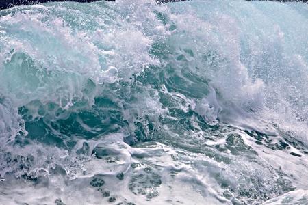 storming: Ocean wave