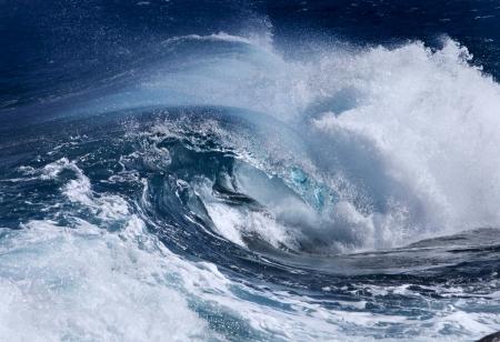 rushing water: Ocean Wave Stock Photo