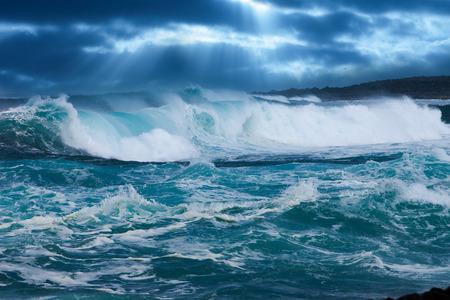 Ocean Wave Standard-Bild