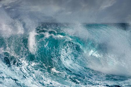 mare agitato: Ocean Wave Archivio Fotografico