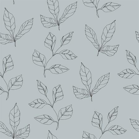 Wild flowers vector pattern. Floral pattern Stok Fotoğraf - 104706484
