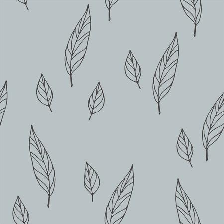 Wild flowers vector pattern. Floral pattern