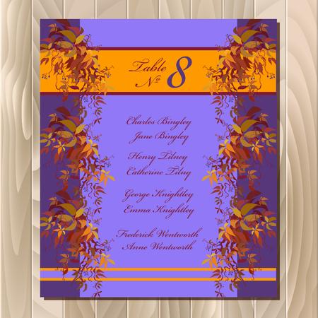 Großartig Gästeliste Hochzeit Vorlage Fotos ...