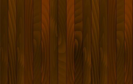 Vector fond de bois bureau en bois avec planches de bois rouge