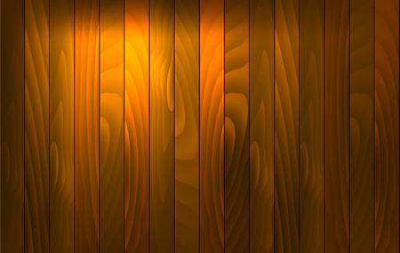 light brown background: Vector wood background with light effect. Wooden desk with vertical red wood plank, old oak floor. Vector illustration stock vector. Illustration