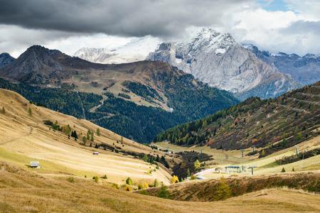 unreachable: Unreachable mountain. Beautiful landscape of Dolomite