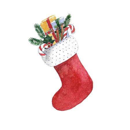 Weihnachten Socke