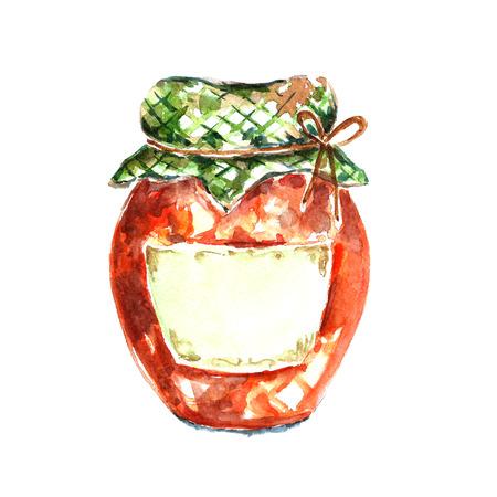 marmalade: jar of jam.