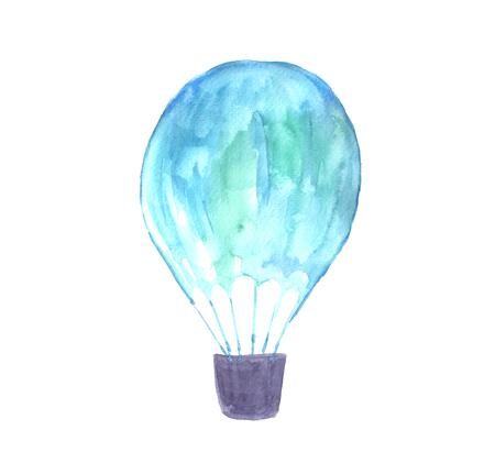 Watercolor balloon. Фото со стока