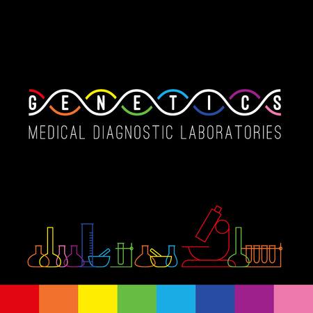 Genetyka ikona Medical Clinic laboratoriach diagnostycznych.