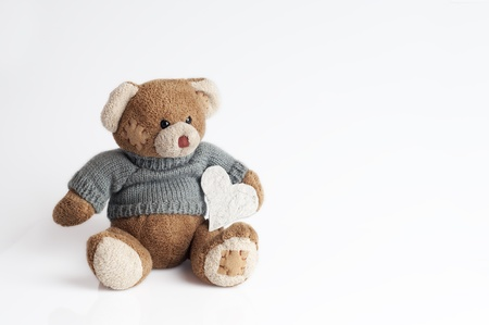 Teddy bear isolated on withe background