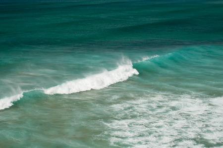vilamoura: Atlantic ocean in Algarve coast, Portugal. Summer vacations Stock Photo