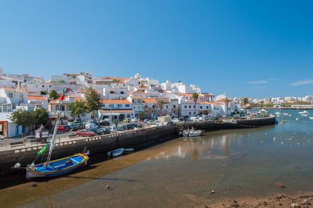 Ferragudo, Portugal. Little fisher and turistic town in Algarve