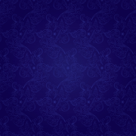 Floral vintage seamless pattern on a violet background   Vector