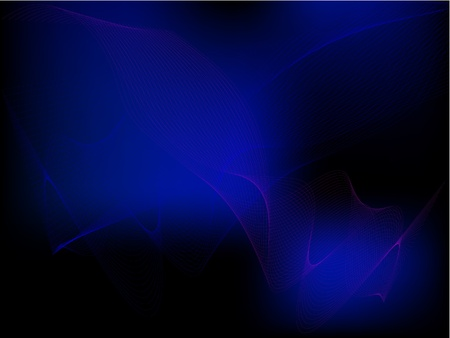 sine wave:  The abstract vector background. The dark blue radiation. The Play of light. The Network. The Web.