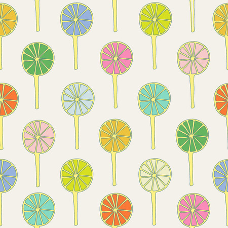 sweetmeats: Seamless pattern lollipops vector sweetmeats lime and green