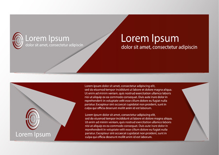 The layout design of the brochure template. Catalog, magazine, flyer. Creative concept of modern bright coating. Imagens