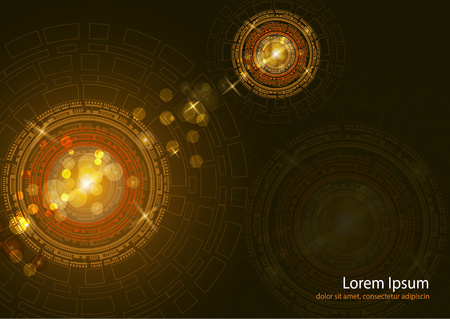 Vector abstract background, design, technology communication, concept, digital business. Template for presentation.