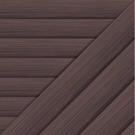 Horizontal and diagonal wood texture. Vector illustration Illustration