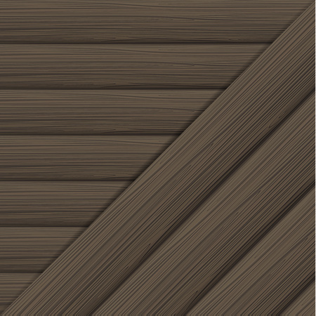 Horizontal and diagonal wood texture. Vector illustration Ilustração