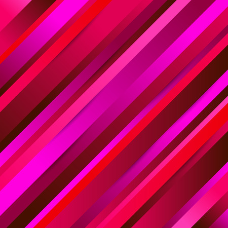 Bright colors diagonal stripes abstract background. Thin and thick slanting lines wallpaper. Vector illustration