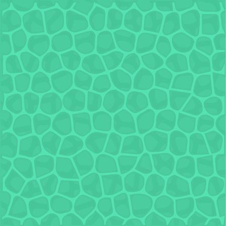 Arrière-plan créatif de la surface de l'eau, ondulations de l'eau. La texture de la surface du réservoir. Illustration vectorielle.