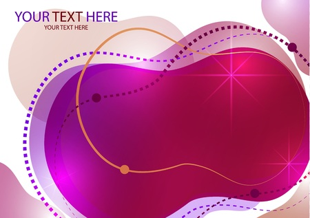 Creative abstract background Fluid Style Colors and shapes. Vector with bright shapes in motion. Futuristic layout design for banner or poster, poster design.