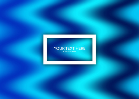 Modern abstract background with a dynamic effect. Colorful liquid gradients. Minimal vector design for cover, banner, flyer. Futuristic design. Vector illustration Ilustração