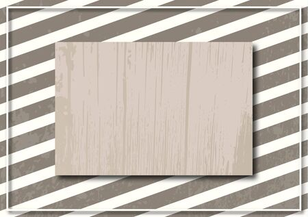 Abstract striped background and frame. Dynamic stylish geometric frame. Design element for business cards, invitations, gift cards, leaflets, brochures, posters, leaflets, discounts and sales. Stock Illustratie