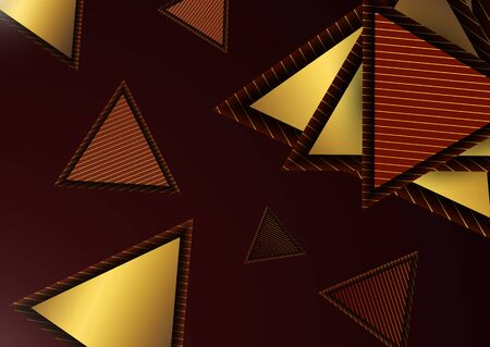 abstract triangle line stripe pattern vector background Ilustrace
