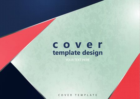 Abstract minimal geometric polygonal shapes. Modern creative corporate design. Trending background for business. Vector illustration