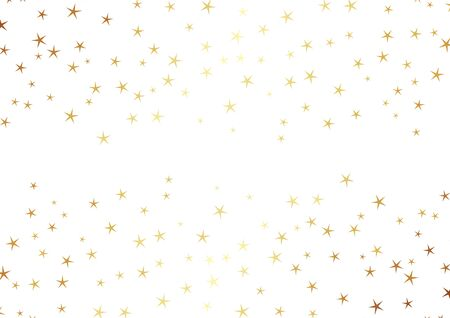 Abstract many stars on a white background. Simple template for your design. Vector illustration