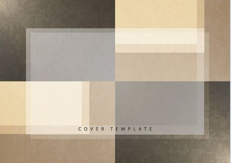 Abstract background from rectangular tiles, texture, empty place for text. Template for your design. Vector illustration Illusztráció