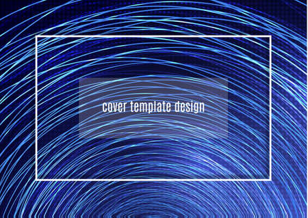 Stylish background with many bright shiny circles. Template for your presentation, flyer layout, banners, logo, presentation. Vector illustration Standard-Bild - 155463869