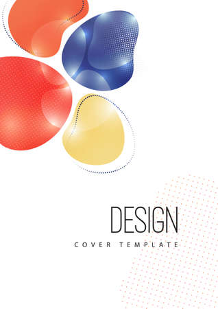 Colorful geometric background pattern. Template for corporate design, flyer or presentation. Vector illustration