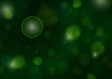 Blurry lights bokeh flash effect circle random dust falling poster background. Magic design for greeting cards and posters. Place for your text.