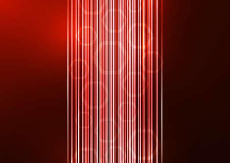 Abstract geometric background, glowing lines and hexagons. Illusztráció