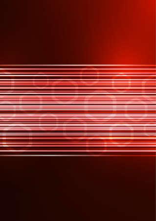 Abstract geometric background, glowing lines and hexagons. Design for brochure, presentation, poster, flyer, print, advertisement, banner website Vector illustration Illusztráció