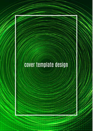 Stylish background with many bright shiny circles. Template for your presentation, flyer layout, banners, logo, presentation. Vector illustration
