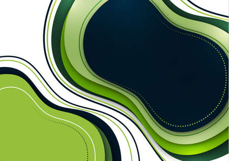 Organic design liquid colored abstract geometric shapes. Elements for a minimal banner, social posting. Vector illustration