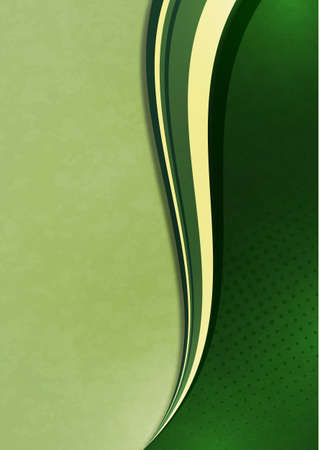 Abstract wave background. Cover design template. Creative design. Vector illustration