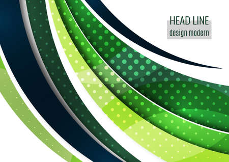 Abstract wave background with copy space. For business technical design templates, web design, presentations. Vector illustration